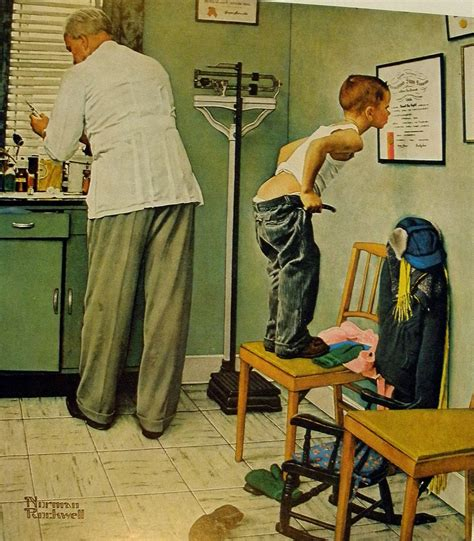 Are Doctors Offices Open On Saturday by Doctor S Office Norman Rockwell 1958 Office