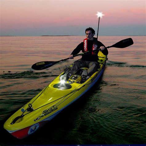 kayak lights for fishing railblaza telepole 1000 kayak fishing attachment nav