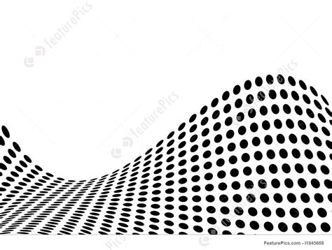 Dot Pattern Wave | dot wave illustration