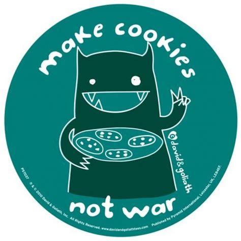 Cookie Monster Aufkleber by Vinyl Aufkleber Monster Mash Make Cookies Not War Bei