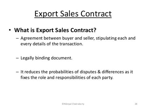 export contract images