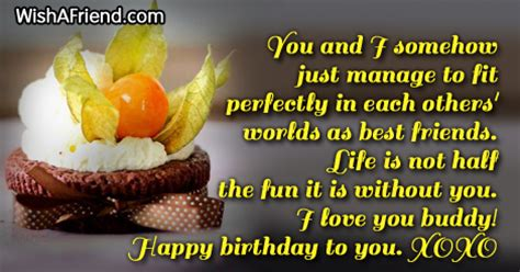 Birthday Quotes For A Best Friend Best Friend Birthday Quotes Quotesgram