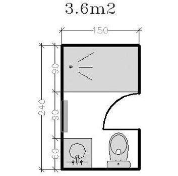Cuisine En Angle 4807 by Plan Pour Salle D Eau Et Salle De Bains De 2 224 5m 178