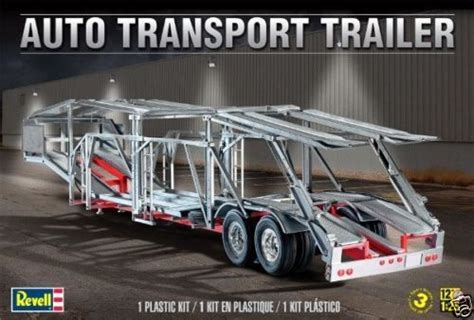 Revell 1/25 Auto Car Transport Trailer Plastic Model Kit