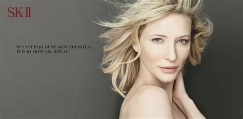 Cate Blanchetts Skincare Collection For Sk Ii by Sk Ii Is Turning The Big 3 0 Sassi Sam Girlie Gossip Files