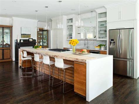 contemporary kitchen islands with seating 19 irresistible kitchen island designs with seating area