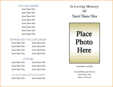 printable obituary template search results for free printable application