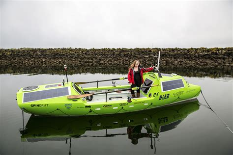 japanese rowboat american woman ready to row solo from japan to u s the
