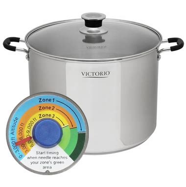 Weston Steamer Pot victorio stainless steel multi use canner