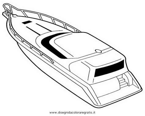 speedboot kleurplaat free coloring pages of speed boat