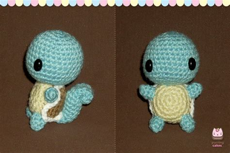 Amigurumi Squirtle Pattern | amigurumi chibi squirtle by purringcakes on deviantart