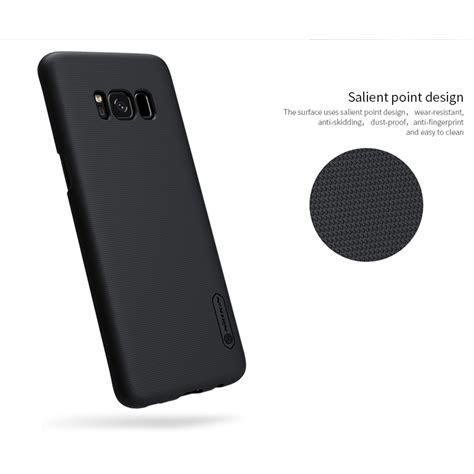 Samsung Galaxy S8 Plus Nillkin Frosted Hardcase Free Anti Gores nillkin frosted shield for samsung galaxy s8 plus black jakartanotebook