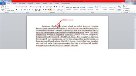membuat catatan kaki pada word 2010 menyisipkan catatan kaki footnote di microsoft word 2010