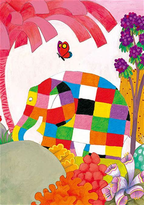 elmer and butterfly david mckee elmer and butterfly 300 micro piece jigsaw puzzle best buy japanese products at