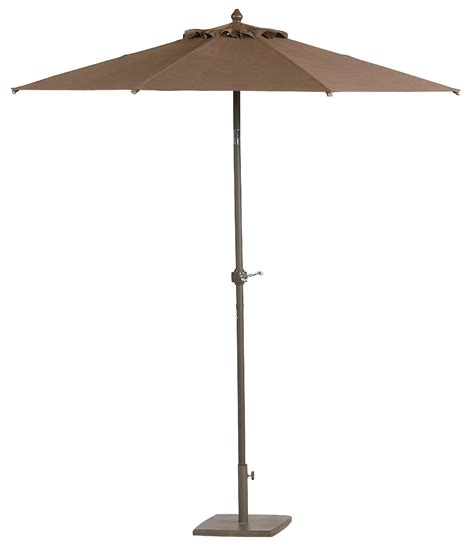 essential garden bartlett 7 5 patio umbrella outdoor