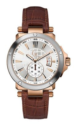 Guess Gc 31000g Leather Brw For guess collection gc bel gent class gents x65007g1s