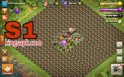 download game coc mod for gingerbread clash of magic coc privat server mod apk v9 434 4