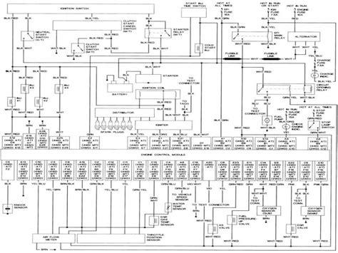 1992 toyota wiring diagram toyota wiring diagrams