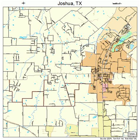 joshua texas map joshua texas map 4838080