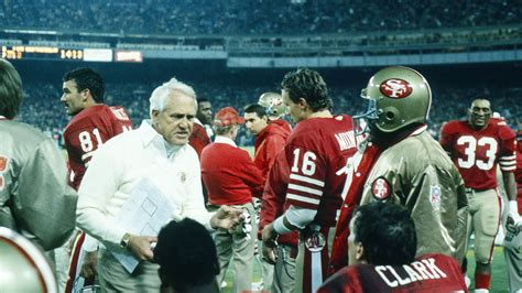 nfl playoffs  bill walshs coaching tree edges bill parcells niners nation