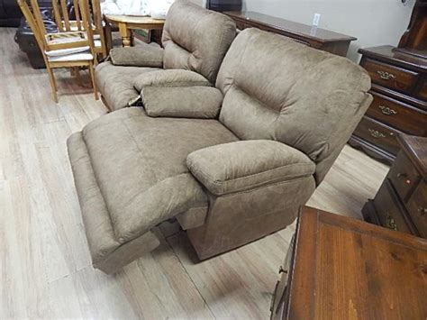 extra large rocker recliner rocker recliner extra large nutmeg faux suede new
