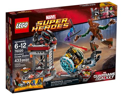 Lego Heroes 76020 Knowhere Escape Mission lego 76020 lego marvel heroes knowhere escape mission toymania lego shop