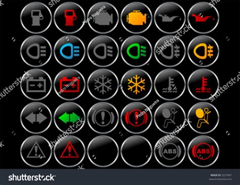 car light symbol meanings dashboard panel symbols