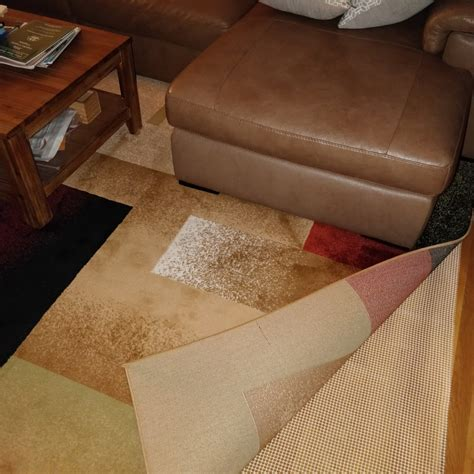 putting rug on carpet is it okay to put area rug on basement vinyl flooring general diy discussions diy chatroom