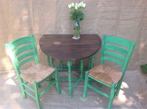 chalk paint table and chairs shabby chic mirror in farnborough camberley frimley