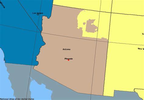 us time zone map arizona arizona time zone map adriftskateshop