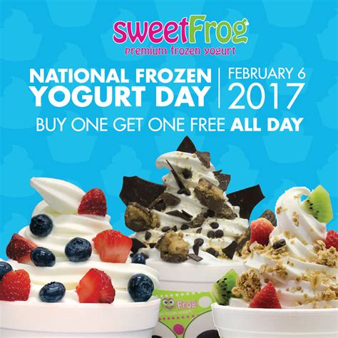 Sweet Frog Gift Card Deal - news sweetfrog premium frozen yogurt