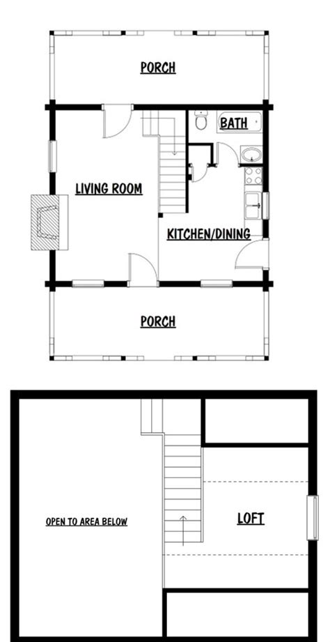 monticello floor plan monticello tiny log house by honest abe log homes inc
