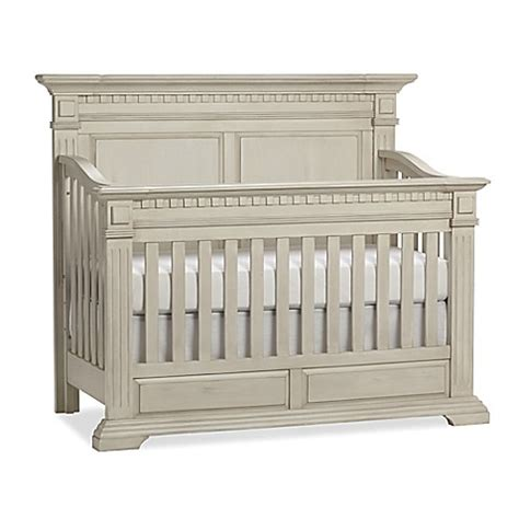 Antique White Convertible Crib Kingsley Venetian 4 In 1 Convertible Crib In Antique White Buybuy Baby