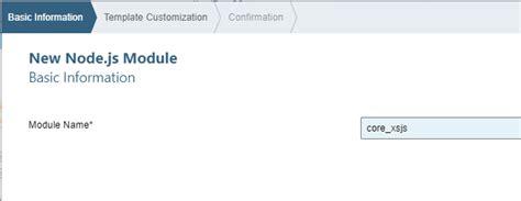 node js http module tutorial sap hana xs advanced creating a node js module sap