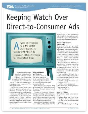 direct to consumer pharmaceutical advertising trade offs dtc ads the doctor patient relationship