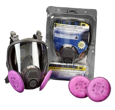 Masker 3m 6700 Respirator Size Small new 3m 67097 respirator kit w 6700 mask small ebay