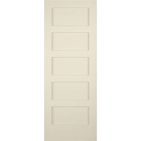 Builder S Choice 30 In X 80 In 5 Panel Shaker Solid Core 5 Panel Shaker Interior Door