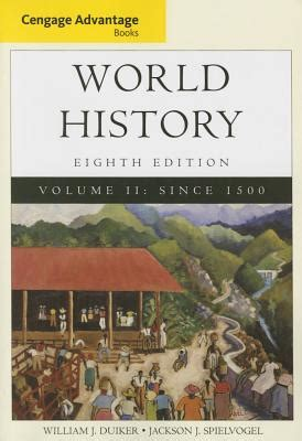 world history books cengage advantage books world history volume ii book by