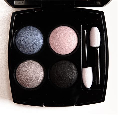 chanel les 4 ombres 224 tiss riviera review swatches chanel tisse riviera 224 les 4 ombres eyeshadow quad