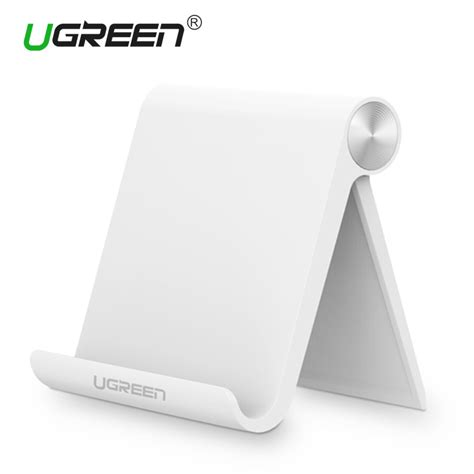 desk phone stand ugreen universal white mobile phone stand desk