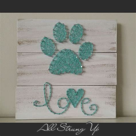 looking for a paw print thanks for looking aqua paw print with string