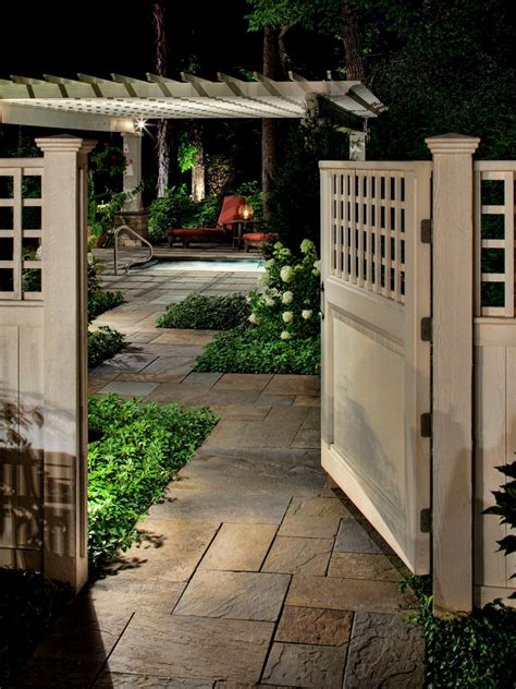 gates for backyard photos hgtv