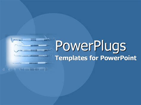 dental powerpoint themes powerpoint template spotlight depicting dental equipment