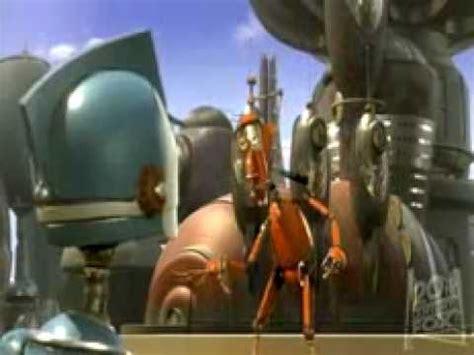 film robot trailer robots trailer youtube