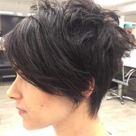 edgy haircuts for thick hair 14 best short edgy haircuts images on pinterest short