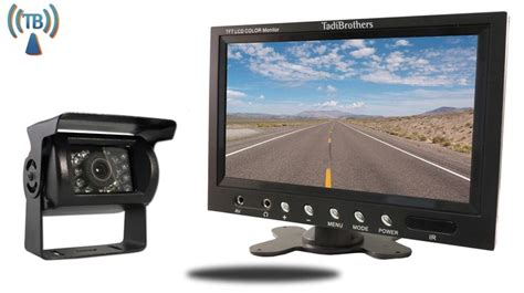 rv backup 7 inch monitor with wireless rv backup system