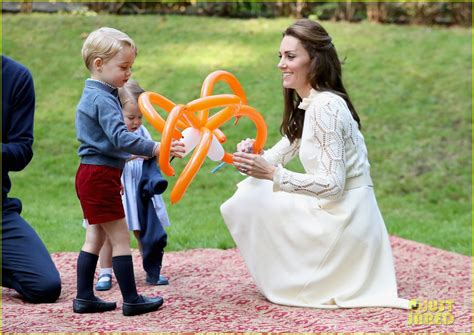 Full sized photo of kate middleton prince william balloon animals george charlotte 35 photo