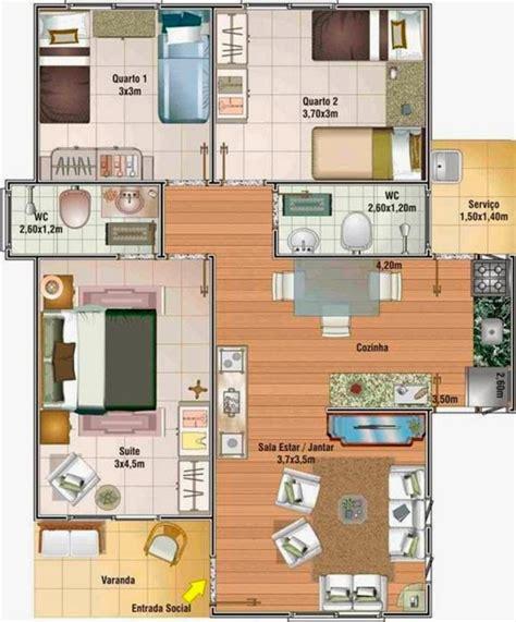 that 70s show house floor plan plano de casa de 70 metros cuadrados con 3 dormitorios