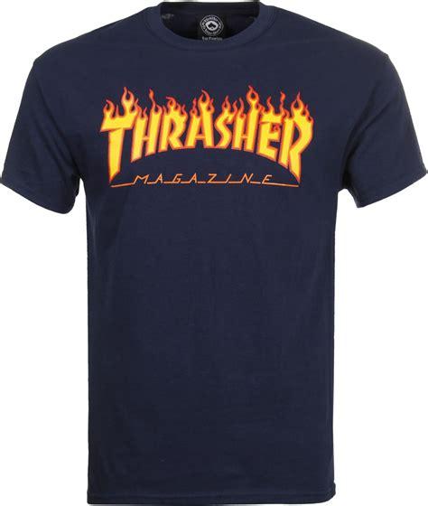 Kaos Thrasher Thrasher Tees Thrasher Tshirt Thrasher 6 thrasher t shirt navy free shipping