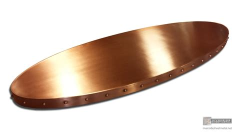 copper bar tops for sale copper bar top decorated with rivets custom made shipped